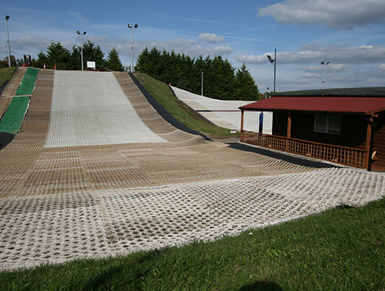 The Donutting Slope at The Guildford Ski Centre